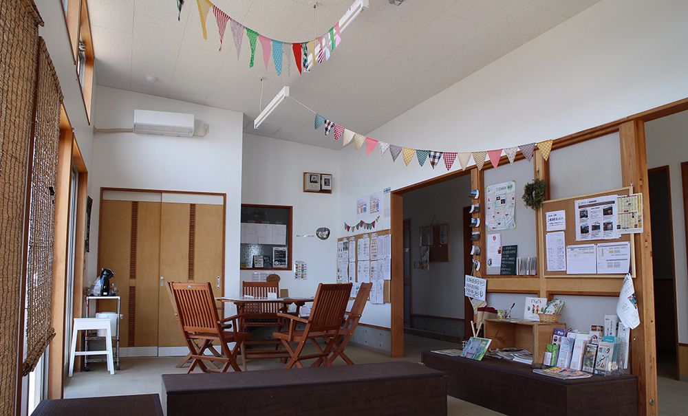 神奈川のバーベキュー付き体験農園のクラブハウス